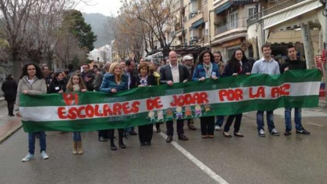 Día Escolar de la No Violencia y la Paz en Jódar (Jaén)