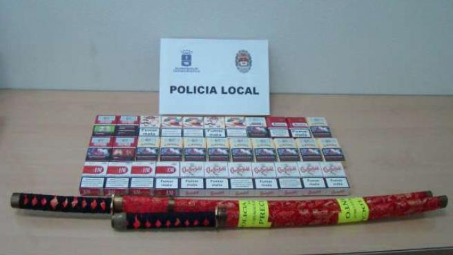 La Policía Local sanciona a un establecimiento por venta de tabaco sin autorizac