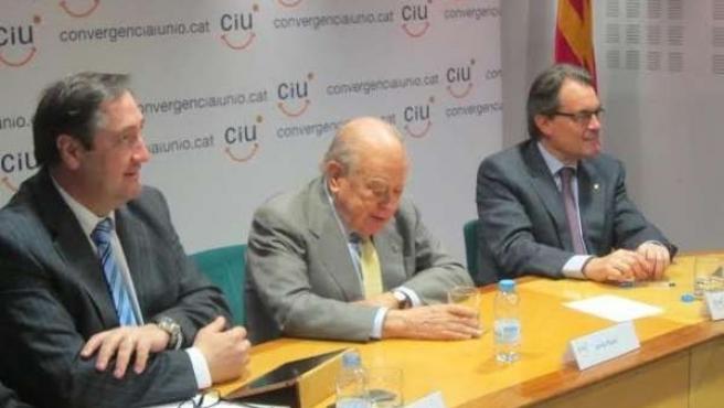 Josep Maria Pelegrí (UDC), expte.Jordi Pujol, pte.Generalitat Artur Mas (CDC)