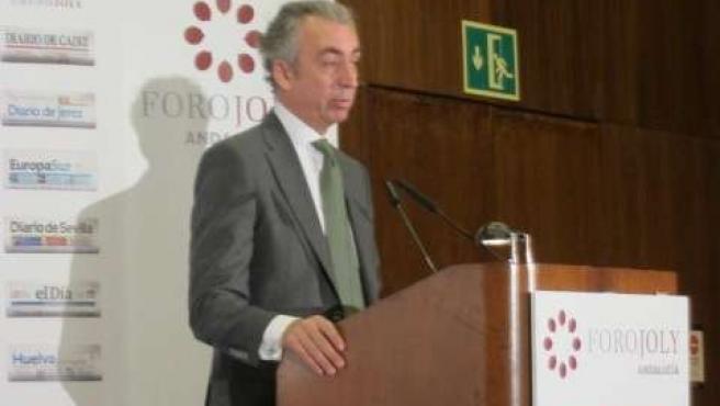 El secretario de Estado de Hacienda, Migue Ferre, en Sevilla