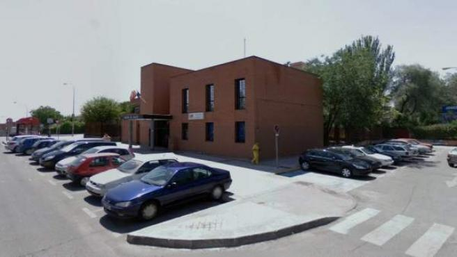Imagen del centro de salud de la calle Avilés de Fuenlabrada.
