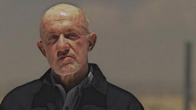 Jonathan Banks como Mike Ehrmantraut en la serie 'Breaking Bad'.