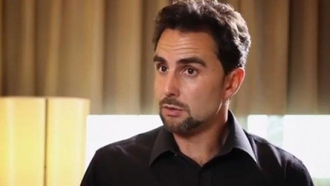 Hervé Falciani durante una entrevista con eldiario.es