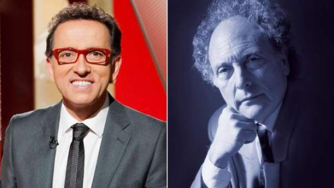 Jordi Hurtado (izda) y Eduard Punset, conductores de dos de los programas más longevos de la historia de la televisión.