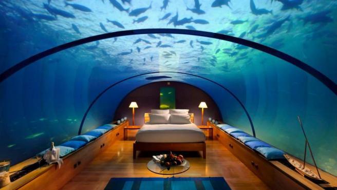 Imagen del futuro hotel submarino Hydropolis, que estará ubicado en Dubái.