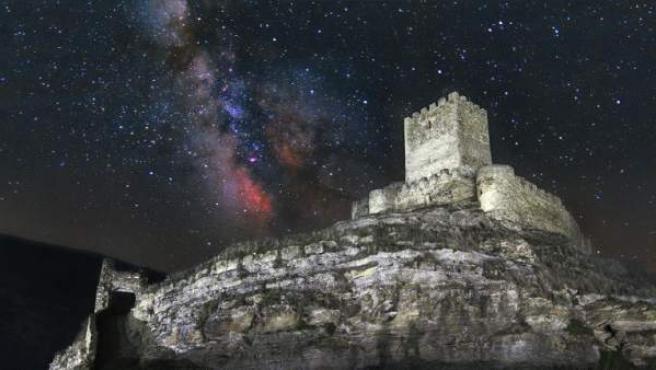 El castillo de Magaña, en la provincia de Soria, es una de las zonas españolas peninsulares en donde comienza a despuntar el astroturismo.