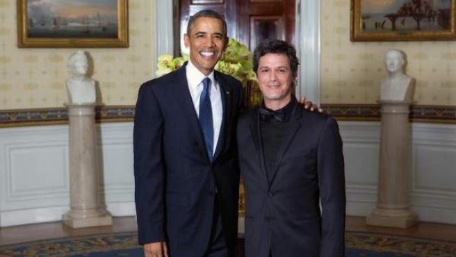 Fotografía publicada por el cantante Alejandro Sanz en las redes sociales.