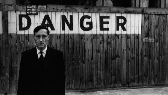 Foto de William Burroughs tomada por su amigo y colaborador Brion Gysin