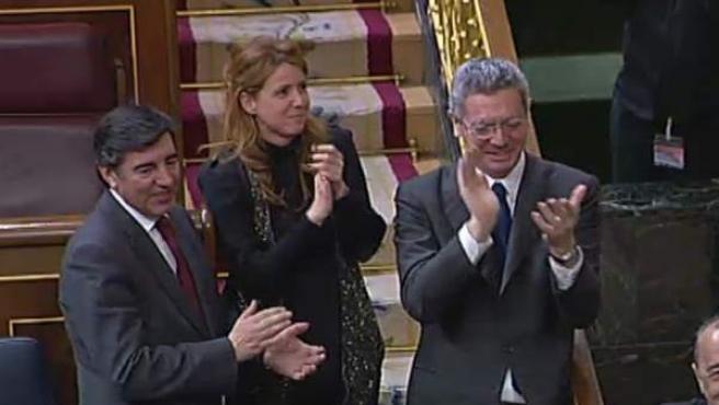 El Congreso de los Diputados ha tumbado la proposición no de ley propuesta por el grupo socialista para pedir la retirada de la reforma de la ley del aborto.