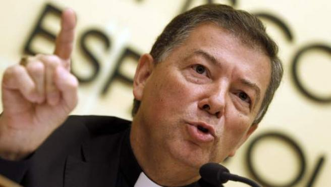 El ex secretario general de la Conferencia Episcopal Española (CEE), Juan Antonio Martínez Camino.