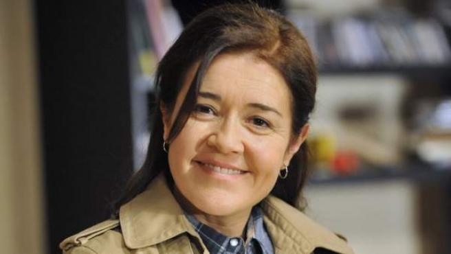 La actriz María Pujalte, protagonista de la serie 'Los misterios de Laura'.