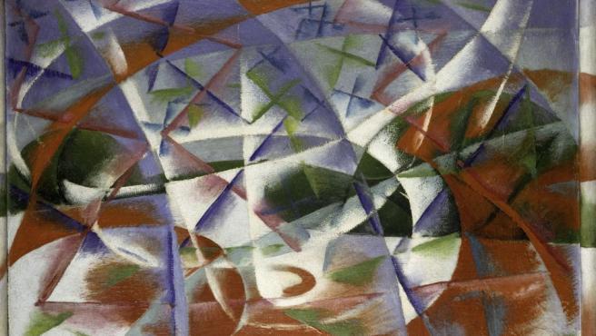 Óleo de Giacomo Balla, uno de los más notables pintores futuristas