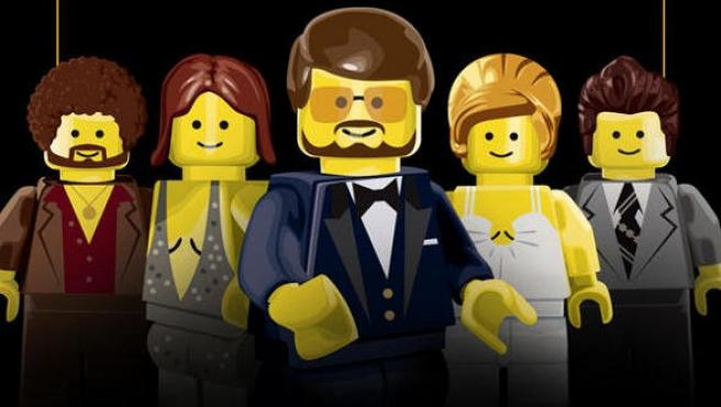 Galería: Los 'Lego-pósters' de las nominadas al Oscar 2014