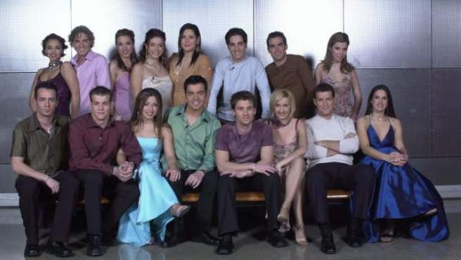 Todos los participantes de la primera edición de 'Operación Triunfo'.
