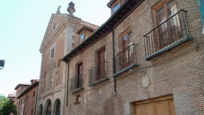 El Convento de las Trinitarias Descalzas de San Ildefonso donde se encuentran perdidos los restos de Miguel de Cervantes