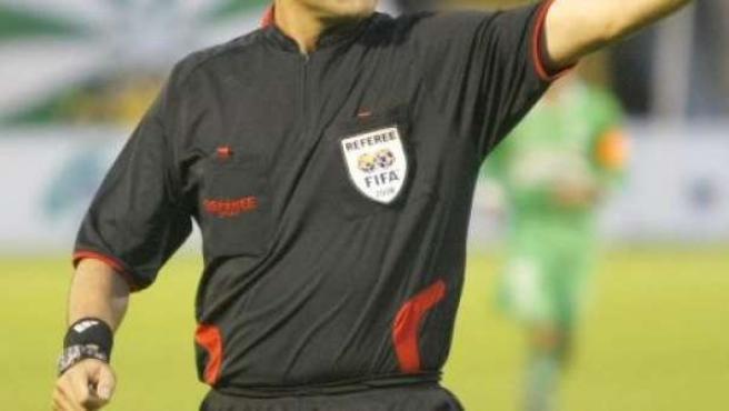 Imagen de archivo de un árbitro.