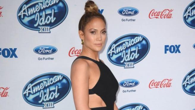 Jennifer Lopez en una gala.