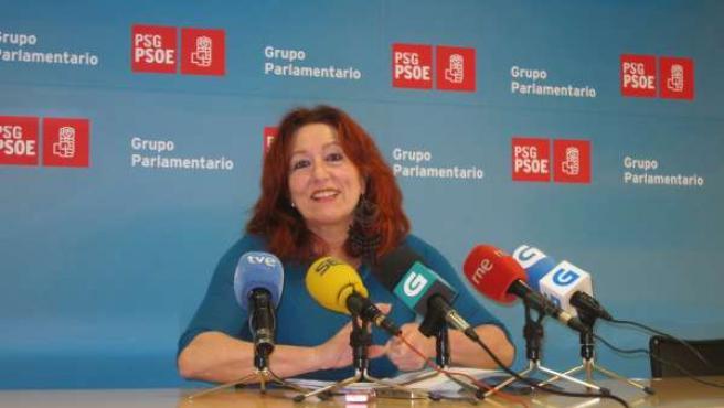 La diputada del PSdeG Carmen Acuña