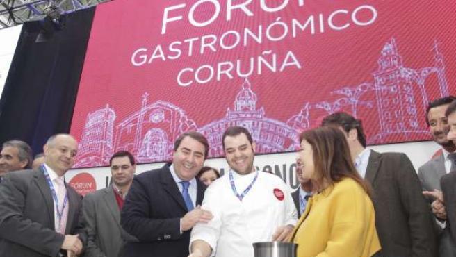 Inauguración del Fórum Gastronómico en A Coruña