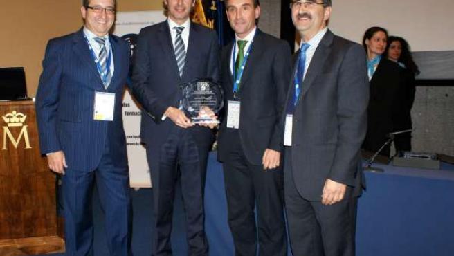 El alcalde de Santander, Íñigo de la Serna, en los premios del CNIS