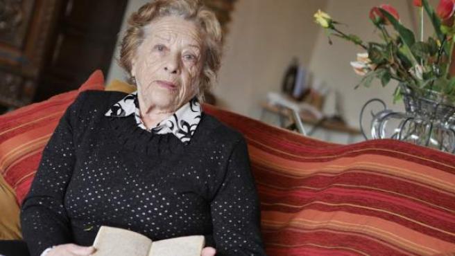 Esta mujer, de 90 años, es la última alumna con vida del poeta sevillano Antonio Machado.