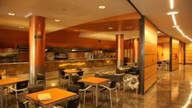 Cafetería del nuevo centro de mayores de Tarazona