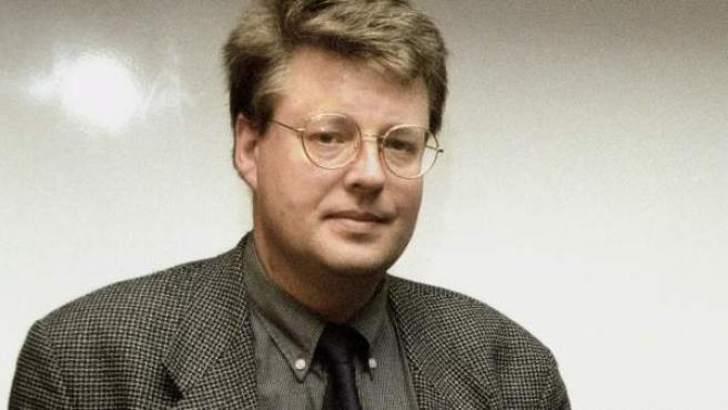 El escritor Stieg Larsson, en una imagen de archivo de 1998.