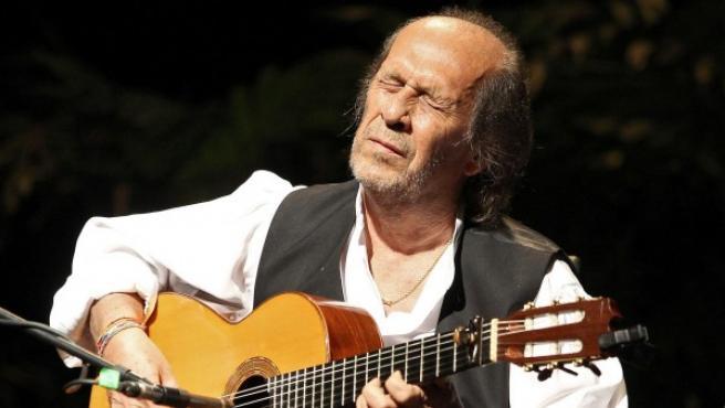 Fotografía de archivo (La Habana, 02/10/2013) del guitarrista y compositor flamenco español Paco de Lucía.