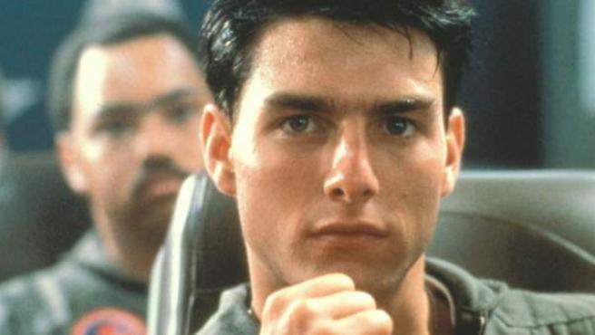 Tom Cruise en 'Top Gun'.