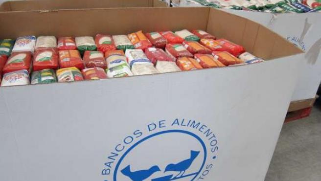 Productos del Banco de Alimentos