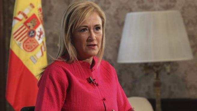 Cristina Cifuentes. Delegada de Gobierno en Madrid.