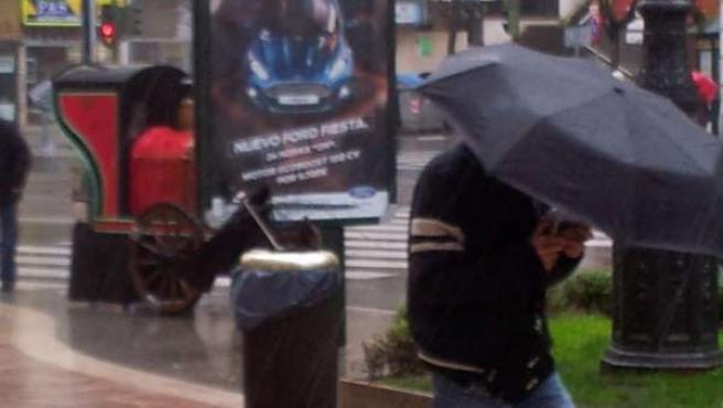 Lluvia, viento, temporal en Cantabria