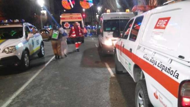 Asistencia de Cruz Roja en Carnaval de Badajoz