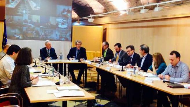 Reunión preparatoria del Consejo de Ministros de Medio Ambiente de la UE.