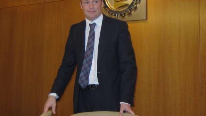 Carlos Villar, nuevo presidente de la Cámara de Valladolid