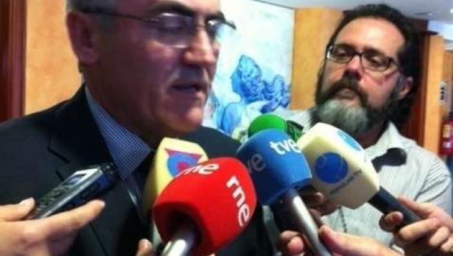 El diputado socialista Alfonso Navarro