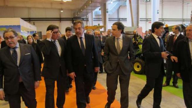 Inauguración de SMAGUA 2014 y del XI Salón del Medio Ambiente, en Feria Zaragoza