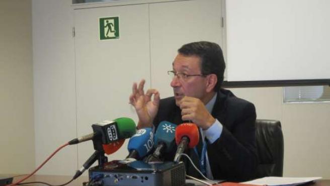 El director del aeropuerto Málaga-Costa del Sol, Salvador Merino