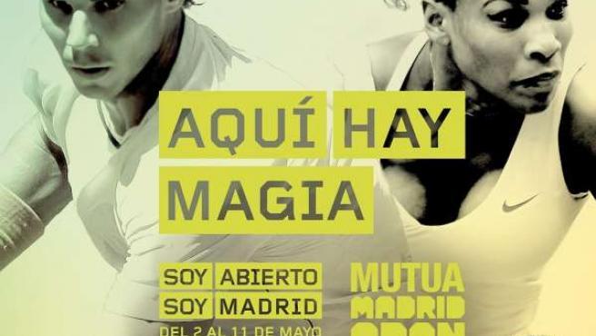 Cartel del Mutua Madrid Open 2014