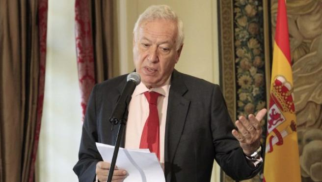 El ministro español de Asuntos Exteriores y de Cooperación, José Manuel García-Margallo.