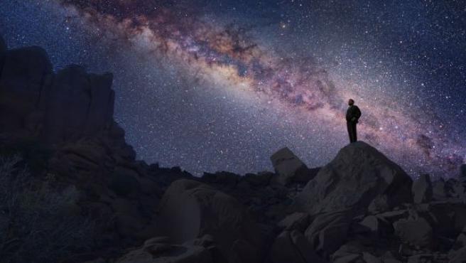 Una secuencia de la nueva serie 'Cosmos'.