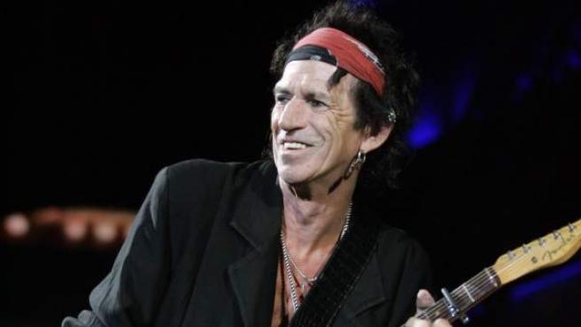 Keith Richards en un concierto de 2006.