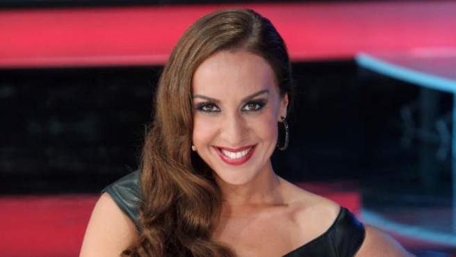 Mónica Naranjo, flamante presentadora de 'A bailar!'.