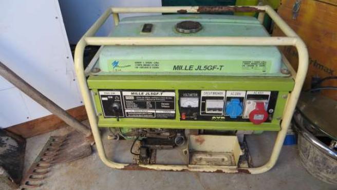 Generador recuperado en Tordesillas