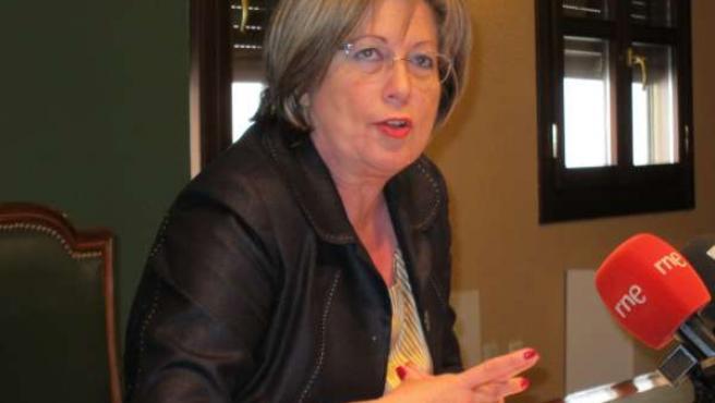La delegada de Fomento de la Junta, Marisantos Córdoba