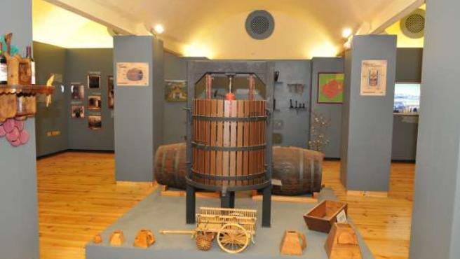 Museo sobre la elaboración del vino