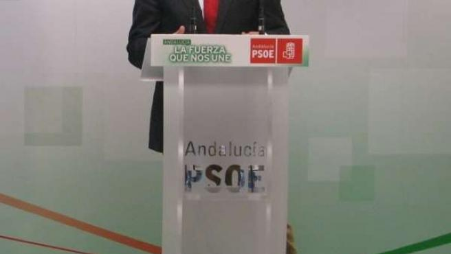 El parlamentario y portvoz psoe marbella josé Bernal