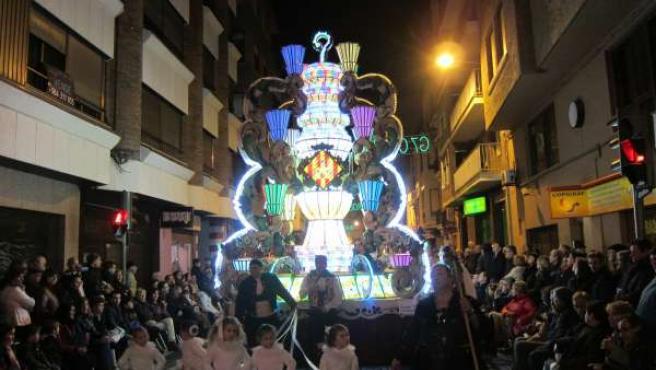 Imagen de una gaiata en las Fiestas de la Magdalena
