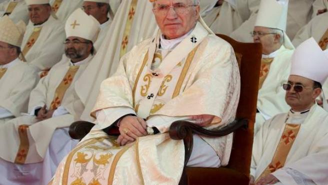 El cardenal arzobispo de Madrid, Antonio María Rouco Varela.