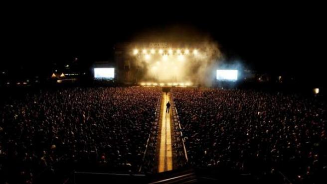 Una imagen del escenario principal de la segunda edición del festival DCode, en Madrid.